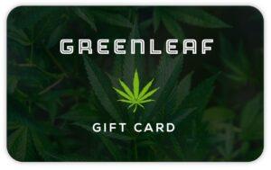 cannabis retail gift card