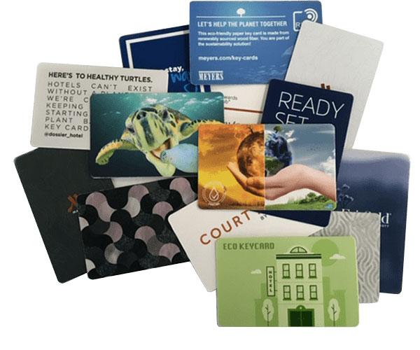 paper rfid hotel key cards