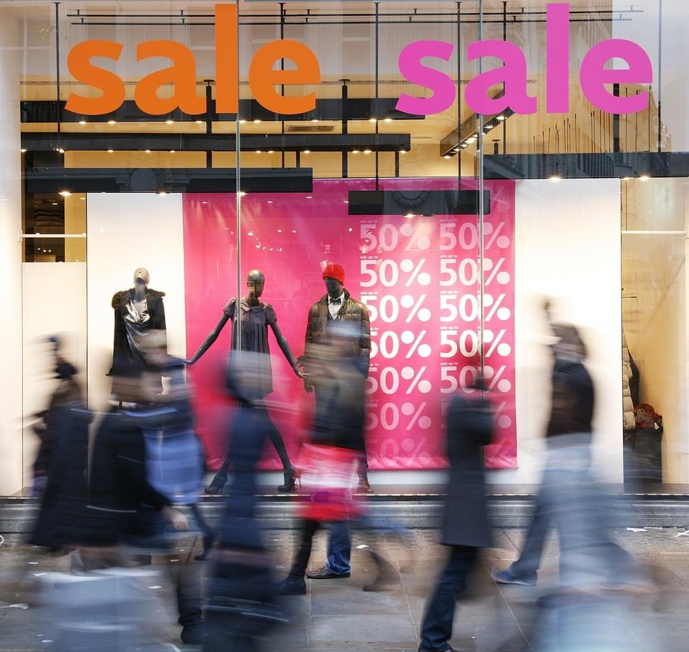 Retail Window Display Signage